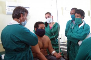 Dr. Nelson Gonzalez on Rounds