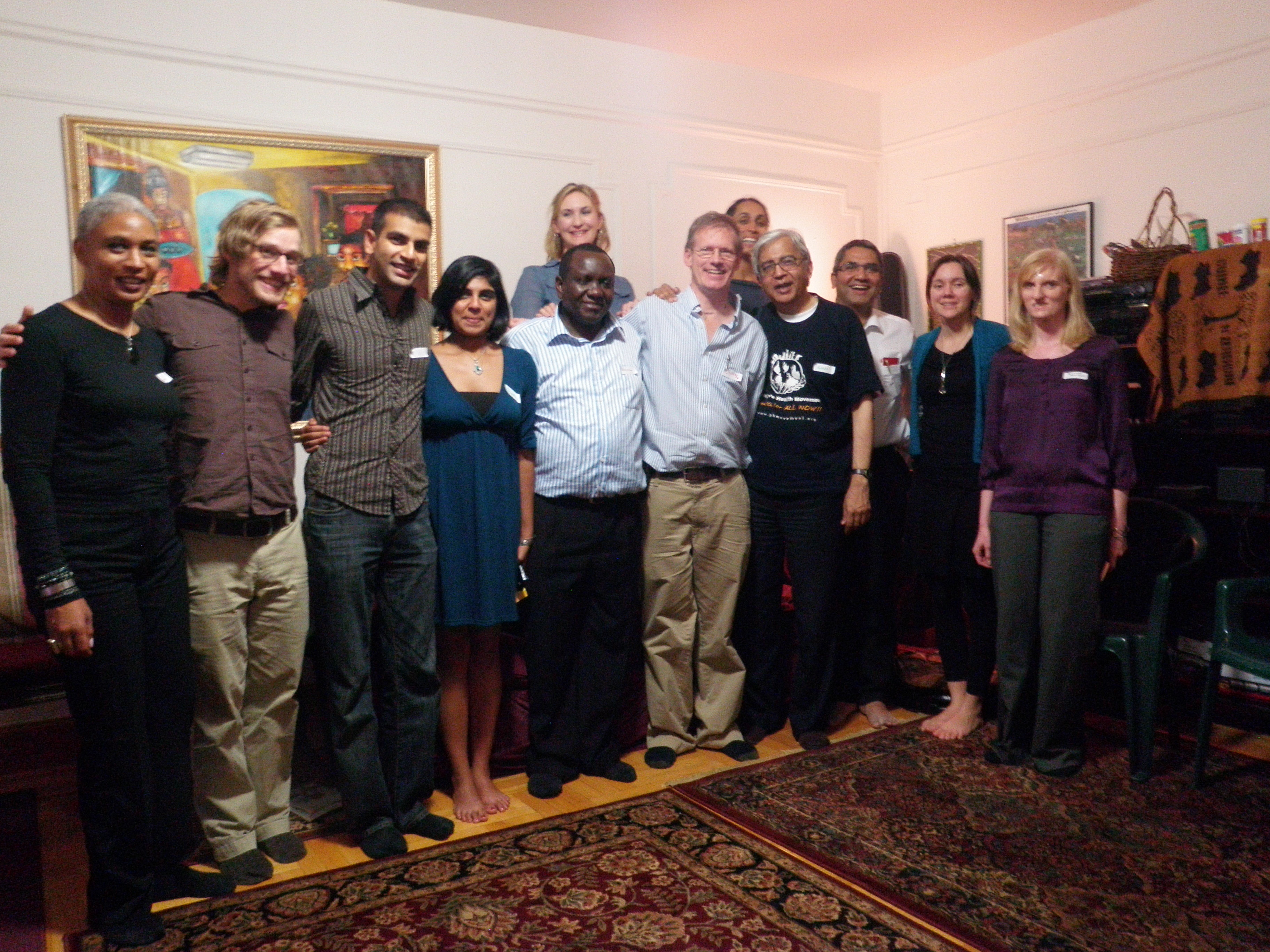 Participants in the Liberation Medicine Course