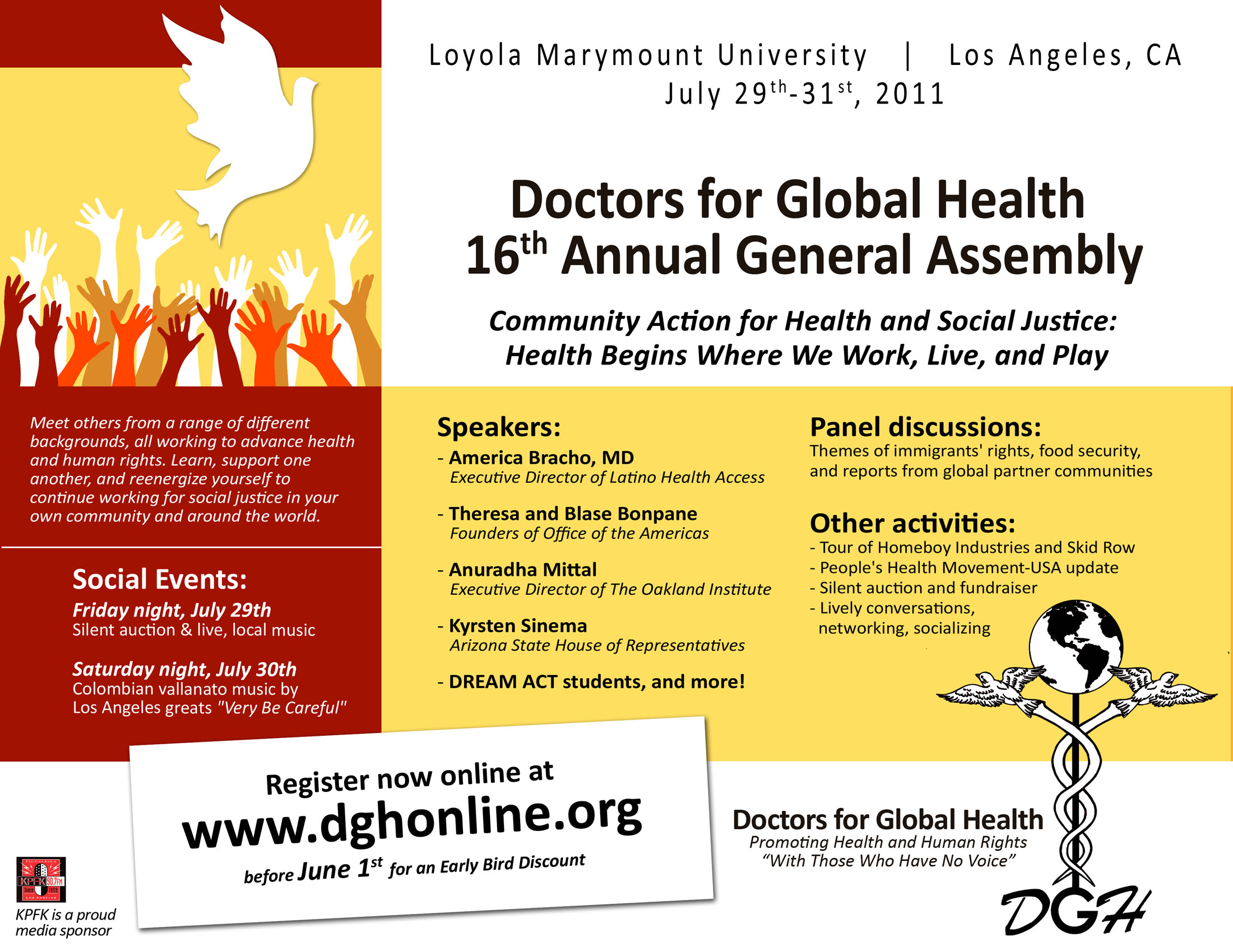 Register now for doctors for global health 2010 annual meeting at doctors spiritdancerdesigns Gallery